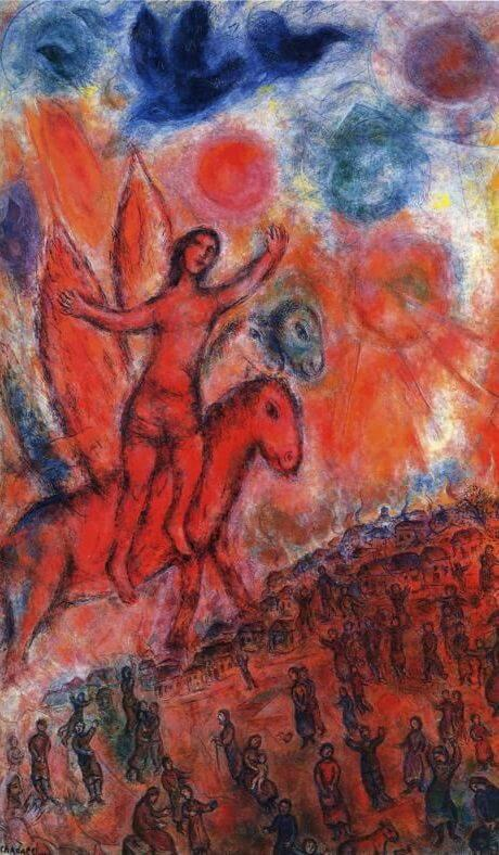 Phaeton, 1977 - by Marc Chagall