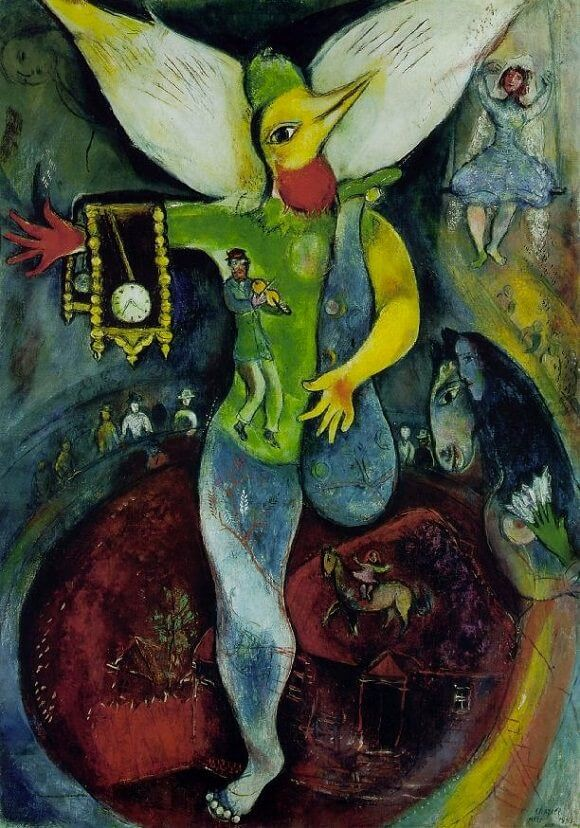 The Juggler, 1943 - by Marc Chagall
