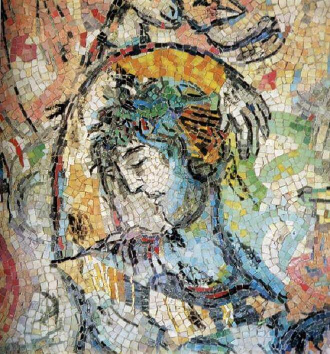 The message of odysseus - by Marc Chagall